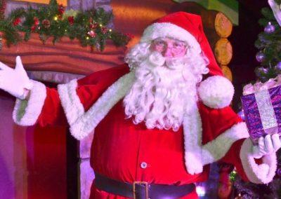 بابا نوئل کریسمس 2019 و درخت کاج