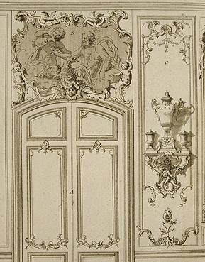 معماری سده 18 فرانسه روکوکو