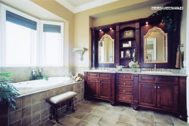 ایده در گالری کابینت حمام و دستشویی