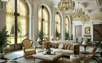 خانه های کلاسیک طراحی شده به سبک کلاسیک