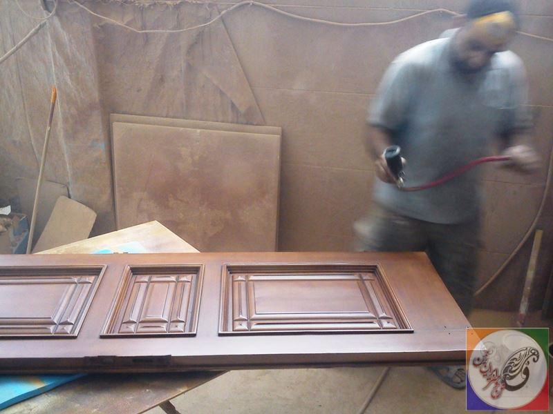 color door wooden 01