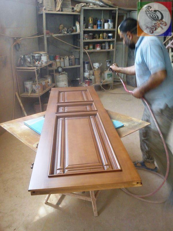 color door wooden 02