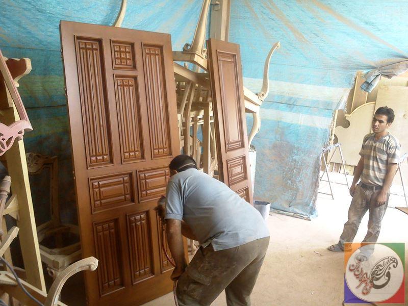 color door wooden 04