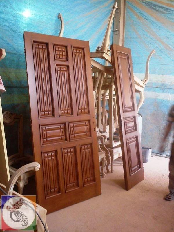 color door wooden 05