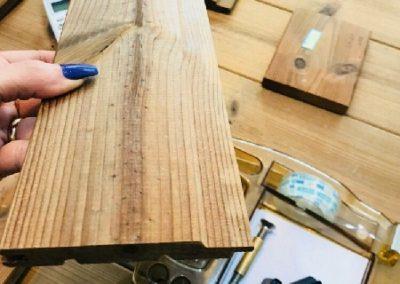 چوب ترمووود ارزان قیمت, چوب ترمووود لمبه utv
