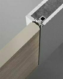 ساخت درب چوبی , طراحی درب چوبی بدون چهارچوب