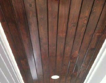 سقف کاذب لمبه چوب کاج روسی , انواع سقف چوبی , استفاده از لمبه در سقف,دکوراسیون چوبی, لمبه برای دیوارکوب، سقف کاذب، ساخت سونا