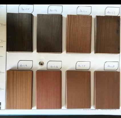 نمونه رنگ چوب کاج , سمپل رنگ چوب , پالت رنگ