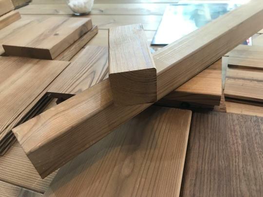 چوب ترمووود ارزان قیمت, چوب ترمووود 4*4 سانتی