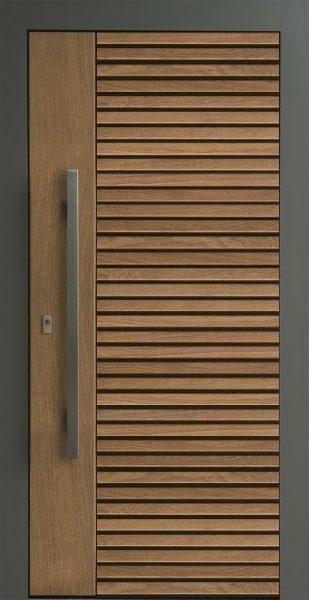 درب های تمام چوب ورودی ساختمان