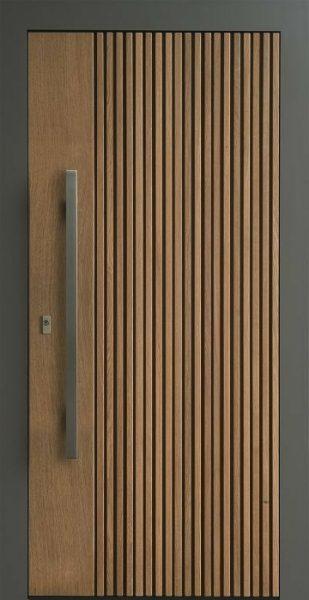 درب ورودی تمام چوب