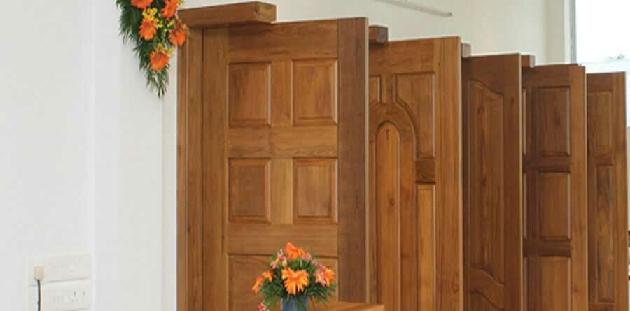 درب چوبی، درب تمام چوب خالص
