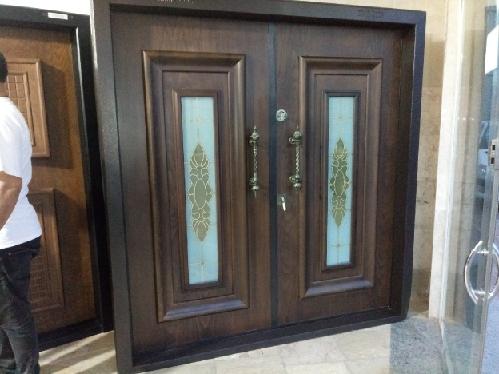درب لابی ضد سرقت، درب چوبی