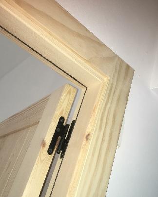 عکس درب چوب کاج، درب چوبی