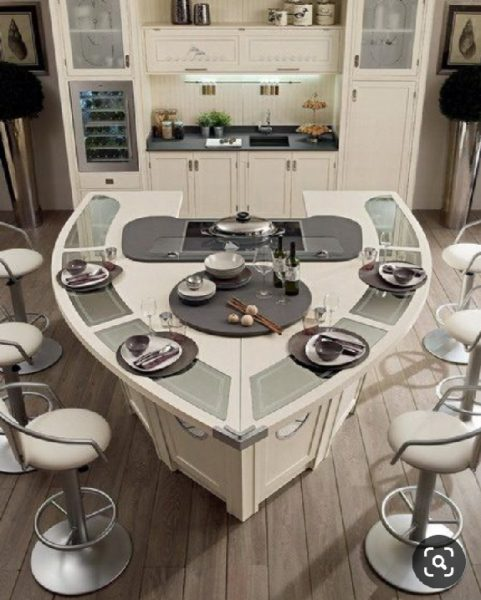 میز ناهارخوری جالب، دکوراسیون آشپزخانه