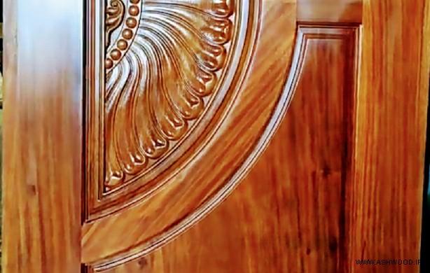 درب چوبی , مدل درب چوبی , درب منبت کاری شده , درب ورودی