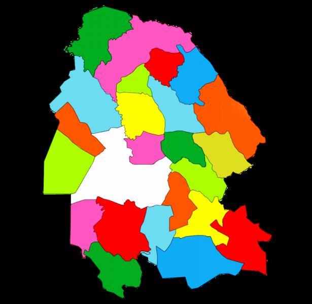 counties of Khuzestan province, Iran
