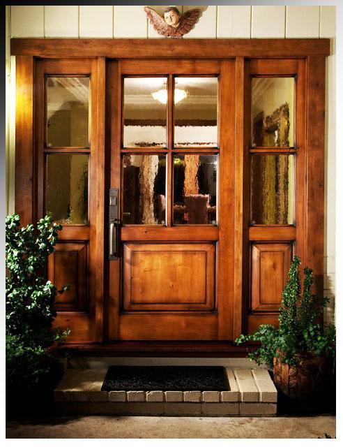 طراحی و ساخت درب های چوبی سبک جدید