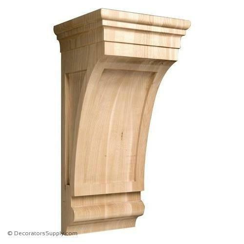 کوربل، سرستون، گونیا زیر تیر چوبی