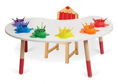 رنگ میز و صندلی