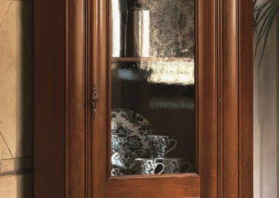 میز کنسول و بوفه ویترین لوکس چوبی