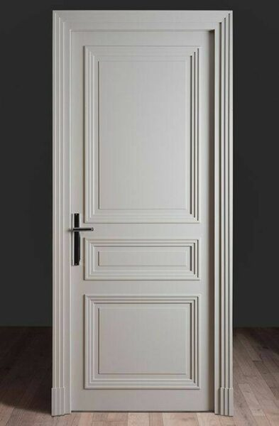درب چوبی سبک آرت دکور