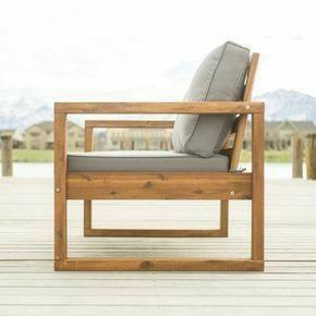 مبل و صندلی تمام چوب سبک روستیک مناسب دکوراسیون بیرونی
