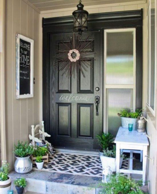 طراحی های شیک برای درب ورودی منزلتان