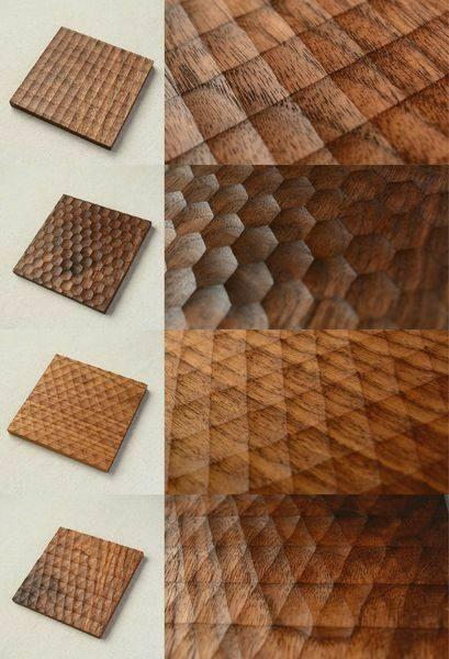 منبت کاری روی درب چوبی و پانل های چوبی