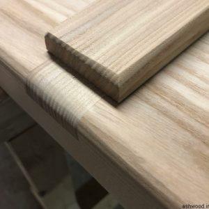 چوب اش , چهار تراش ساده از جنس چوب عش (زبان گنجشک)