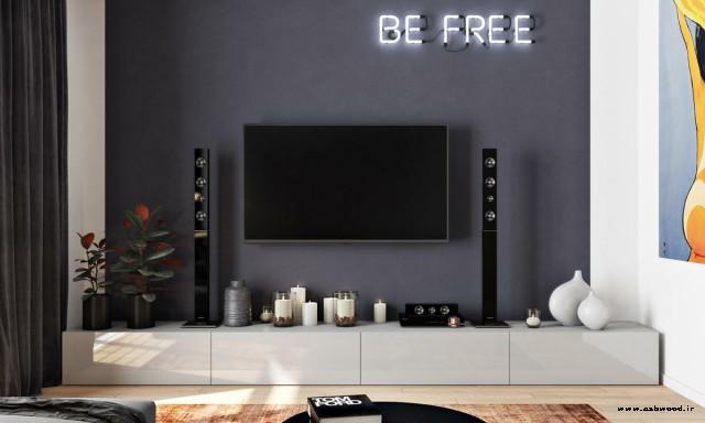 دکوراسیون دیوار تلویزیون , ایده های شگفت انگیز