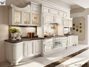 مبلمان معاصر ایتالیایی برای طراحی آشپزخانه منحصر به فرد و مدرن کلاسیک
