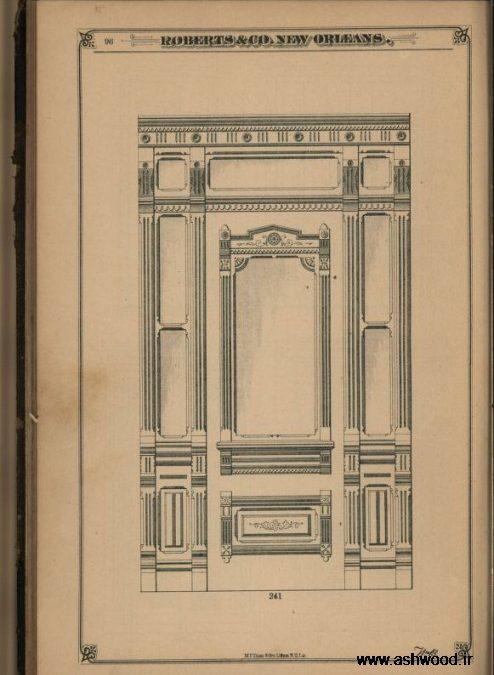 طراحی درب چوب