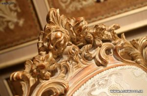 دکوراسیون کلاسیک رومی ، دکوراسیون چوبی دست ساز