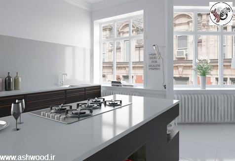 بهترینهای کابینت آشپزخانه ، صفحه کابینت چوبی