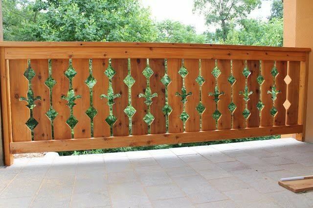 چوبی و حصار باغچه، عکس نرده چوبی باغچه