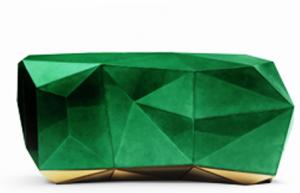 کنسول هندسی , میز کنسول الماس