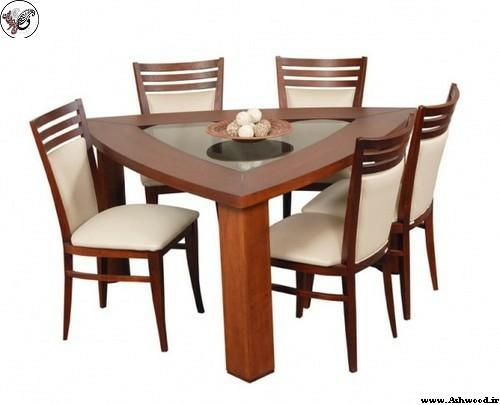 میز ناهار خوری های گوشه ای جدید کم جا غذاخوری کوچک کنج