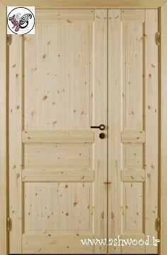 درب چوب کاج٬ ساخت درب چوبی٬