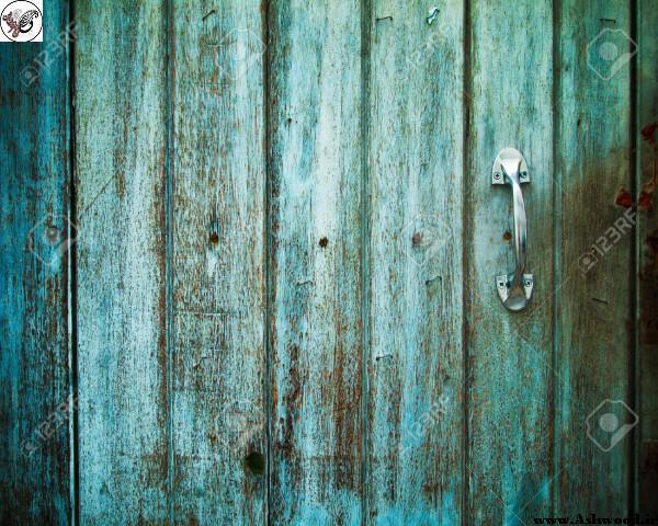 مدل درب کهنه و قدیمی