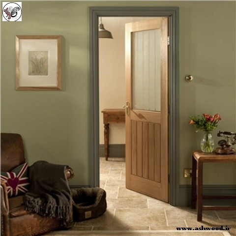 درب چوب بلوط , درب داخلی , ساخت انواع درب های چوبی , روکش درب اتاق , انواع مدل درب داخلی
