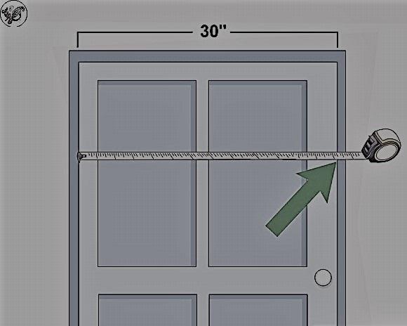اندازه گیری درب اتاق ,  استاندارد چهارچوب و ابعاد درب چوبی