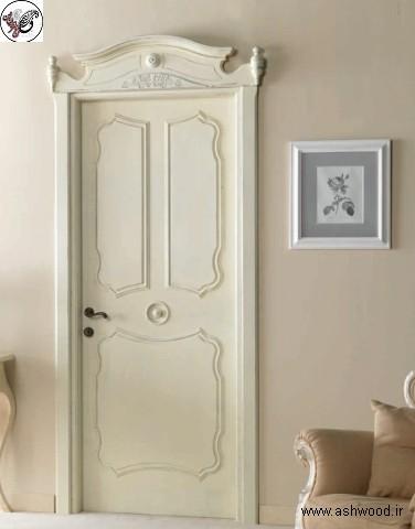 درب داخلی کلاسیک چوبی , درب داخلی ایتالیایی لوکس