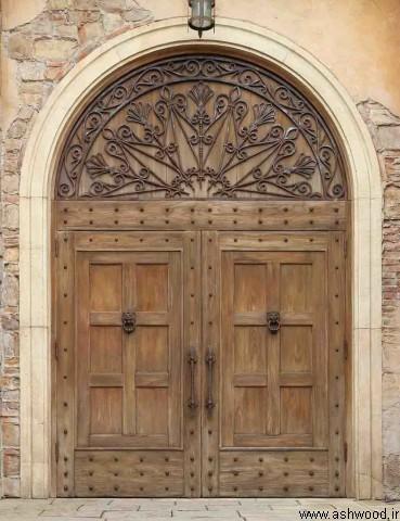 درب چوبی قدیمی , درب سنتی ایرانی
