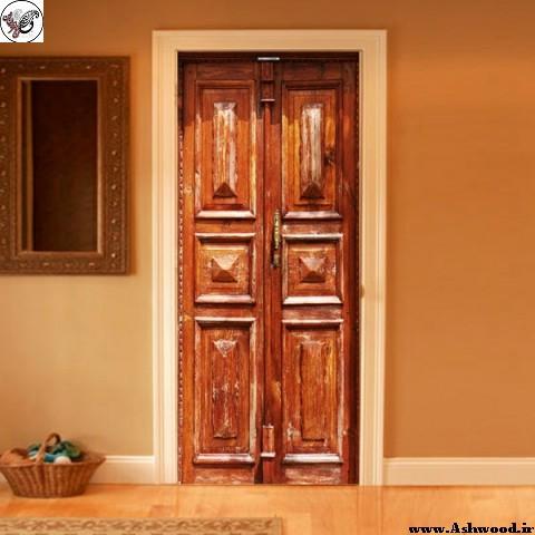 مدل درب چوبی قدیمی