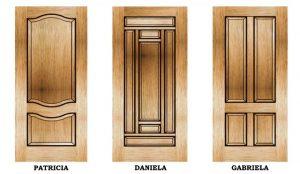 درب چوبی اتاقی