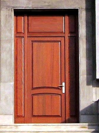 درب ورودی ساختمان دربهای دولنگه و سه رنگه ، در , عکس درب چوبی