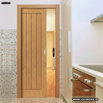 دربهای کشویی و درب های چوبی برای خانه های چوبی , درب ریلی