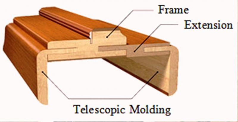 درب چوبی سفارشی ساز