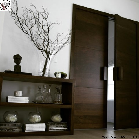 مزایای استفاده از درب داخلی چوبی